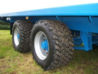 staines hay bale trailers wheels thumbnail