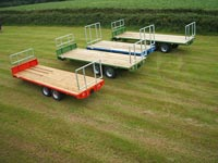 staines hay bale trailers in a field thumbnail