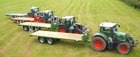 3 farming trailers and tractors in  aberdeen